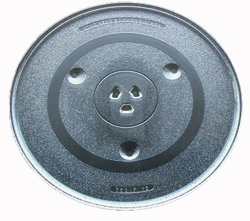 Ge inch microwave glass plate part wb49x10227 - Kitchenaid microwave turntable replacement ...